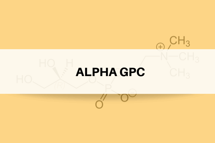 Top 3 advantages of Alpha GPC