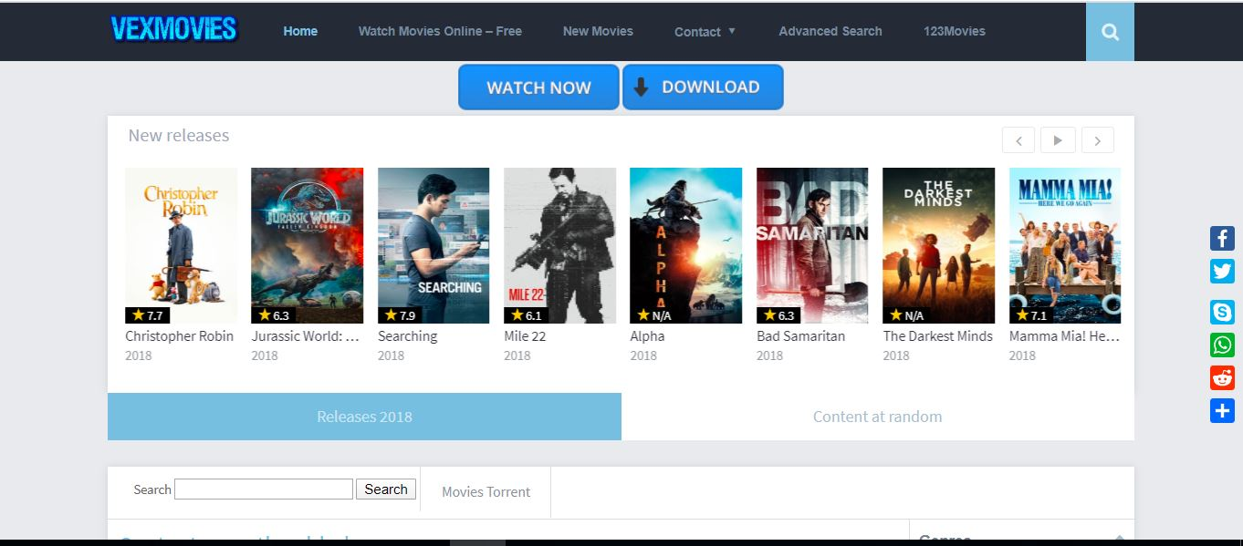 Sites To Stream Movies Online